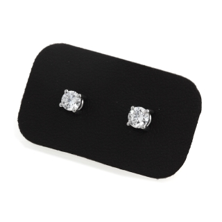 0,40 Ct Natural Diamonds Stud Earrings 18Kt. Gold